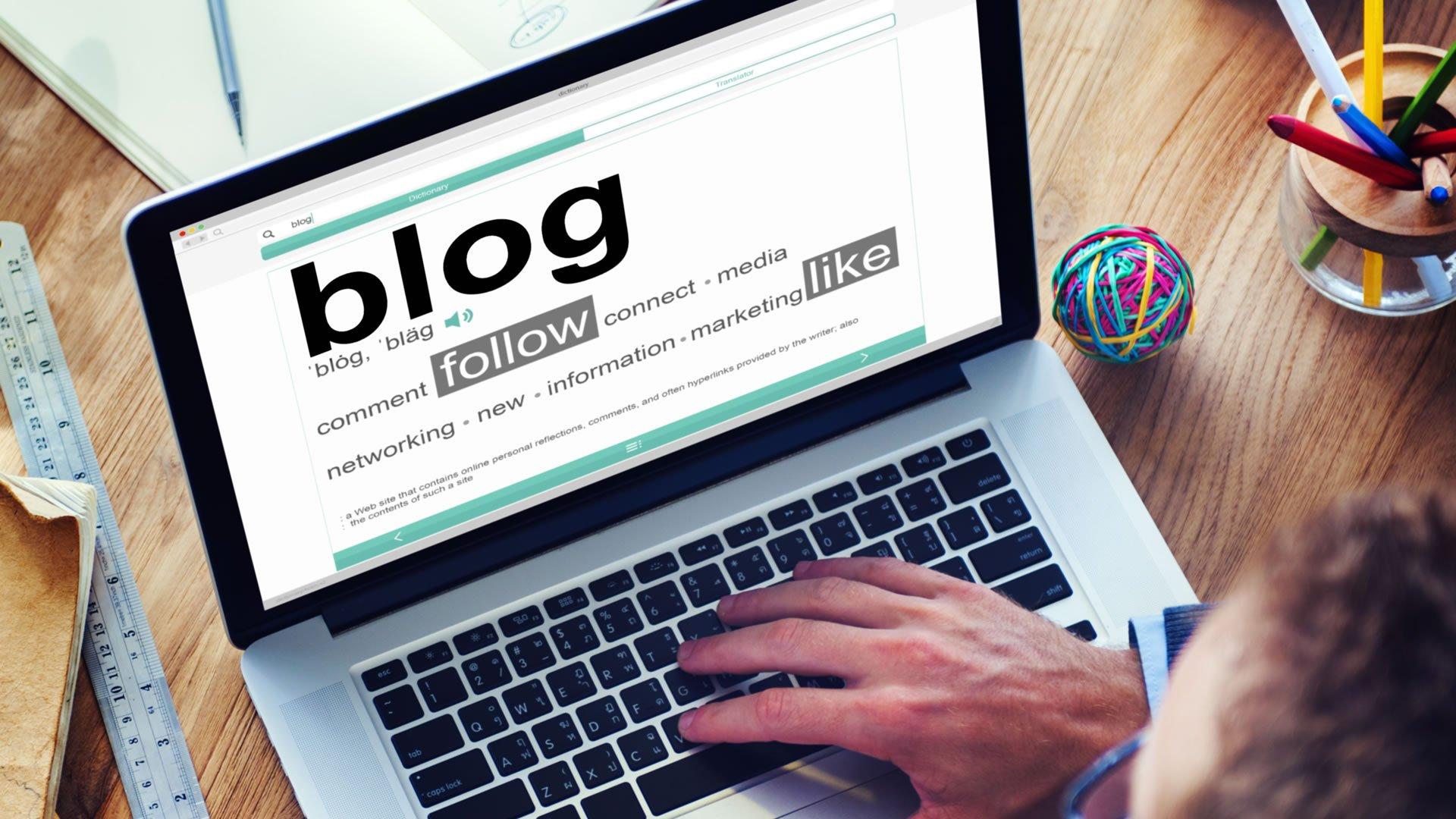 10 motivi per cui hai bisogno di un blog